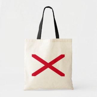 Alabama State Flag Design Tote Bag
