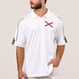 Alabama State Flag Design Polo Shirt