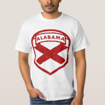 Alabama State Flag Logo T-Shirt