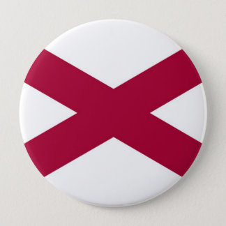 Alabama State Flag Pinback Button