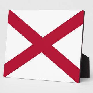 Alabama State Flag Plaque