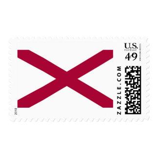 Alabama State Flag Postage Stamps