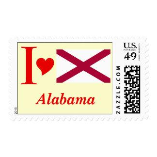 Alabama State Flag Stamp