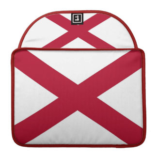 Alabama State Flag Rickshaw Flap Sleeve MacBook Pro Sleeves