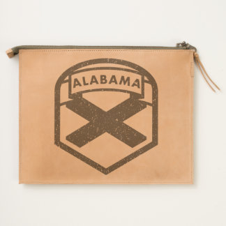 Alabama State Flag Travel Pouch