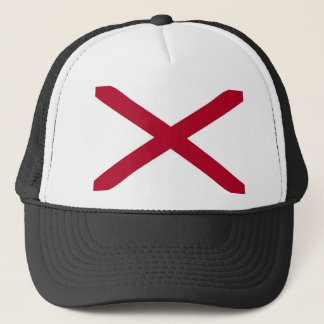 Alabama State Flag Trucker Hat