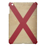 Alabama State Flag VINTAGE. iPad Mini Covers