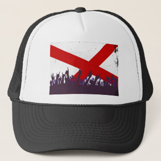 Alabama State Flag with Audience Trucker Hat
