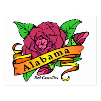 Alabama State Flower Postcard