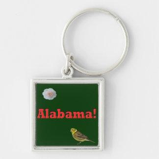 Alabama State Keychain