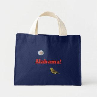 Alabama State Mini Tote Bag