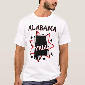 Alabama State Pride Y'all T-Shirt