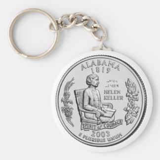 Alabama State Quarter Key Chains
