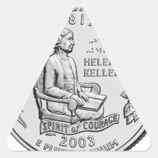 Alabama State Quarter Triangle Stickers