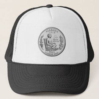 Alabama State Quarter Trucker Hat