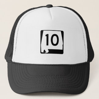 Alabama State Route 10 Trucker Hat