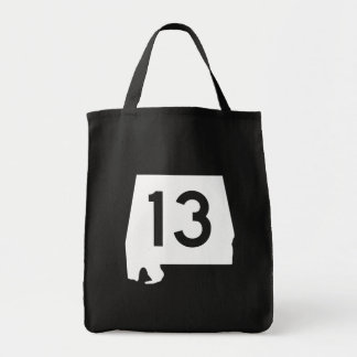 Alabama State Route 13 Tote Bag