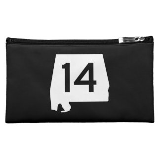 Alabama State Route 14 Cosmetic Bag