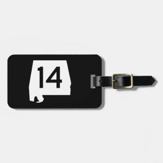 Alabama State Route 14 Luggage Tag