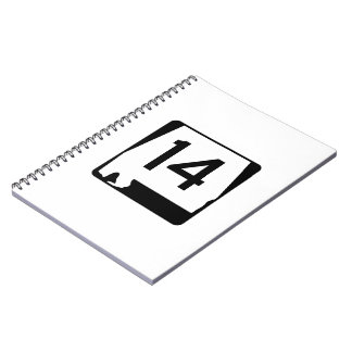 Alabama State Route 14 Spiral Notebook