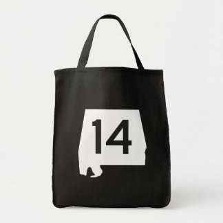 Alabama State Route 14 Tote Bag