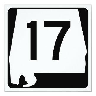 Alabama State Route 17 Card