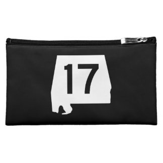 Alabama State Route 17 Cosmetic Bag