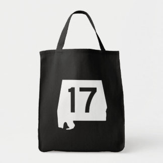Alabama State Route 17 Tote Bag