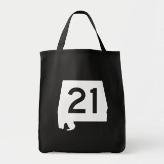 Alabama State Route 21 Tote Bag