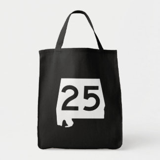 Alabama State Route 25 Tote Bag