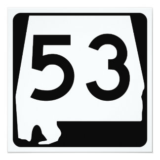 Alabama State Route 53 Card