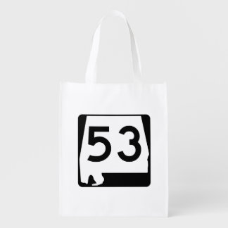 Alabama State Route 53 Grocery Bag