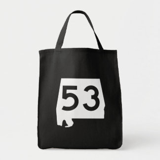 Alabama State Route 53 Tote Bag
