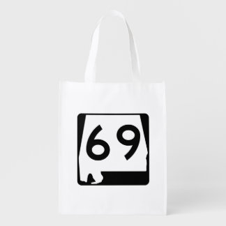 Alabama State Route 69 Grocery Bag