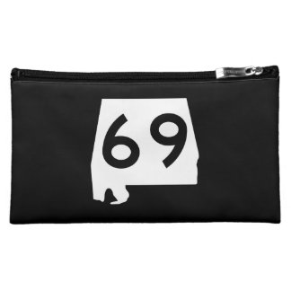 Alabama State Route 69 Makeup Bag