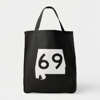 Alabama State Route 69 Tote Bag