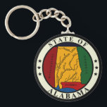"Alabama State Seal Keychain<br><div class=""desc"">Alabama State Seal Keychain</div>"