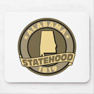Alabama Statehood Mouse Pad