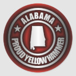 """""""Alabama Steel"""" Stickers (Red)"""