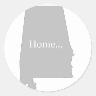 Alabama Classic Round Sticker
