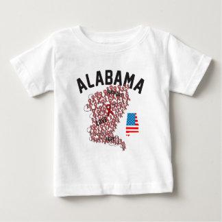 Alabama Support 2011 Baby T-Shirt