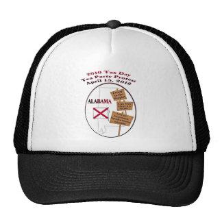 Alabama Tax Day Tea Party Protest Baseball Cap Trucker Hat