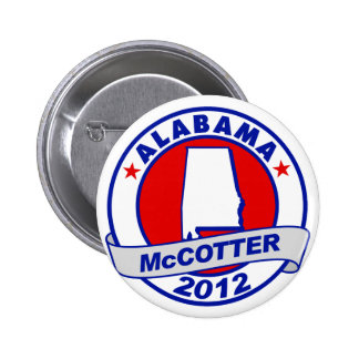 Alabama Thad McCotter Button