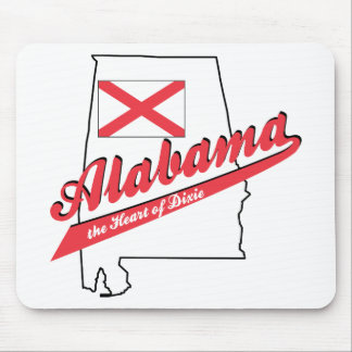 Alabama - The Heart of Dixie Mouse Pad