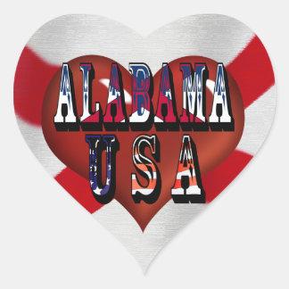 Alabama The Heart Of Dixie Sticker