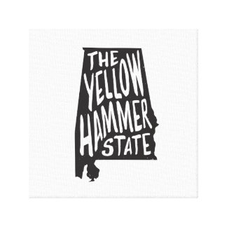Alabama: The Yellowhammer State Canvas Print