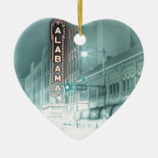 alabama-theater ceramic ornament