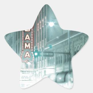 alabama-theater star sticker