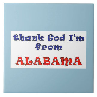 Alabama Large Square Tile