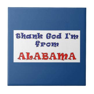 Alabama Small Square Tile